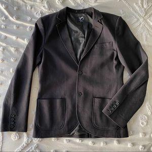 Nordstrom Casual Black Blazer Sport Coat L